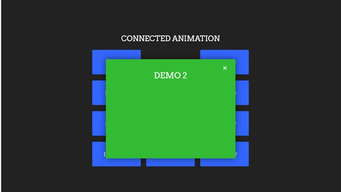 Connected Animation