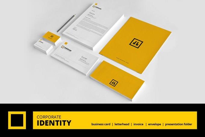 Corporate Brand Identity Mockups