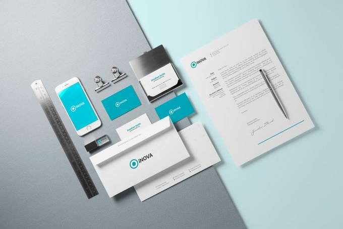 Corporate Branding Identity Mock-up