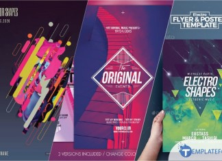 Creative Shape Flyer Template