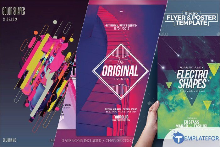 Creative Shape Flyer Template