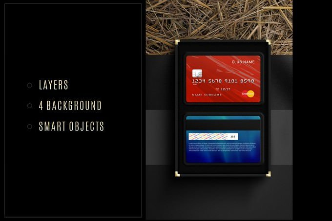 Credit Card PSD Mock-Up