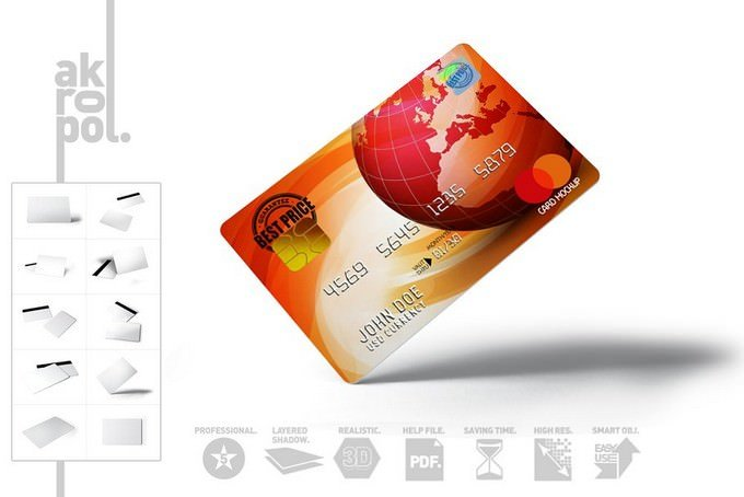 Stunning Credit Cards Design