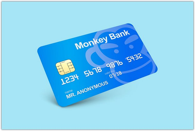 Bank Card PSD design