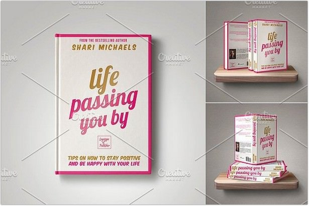 Customizable Book Cover Template 17