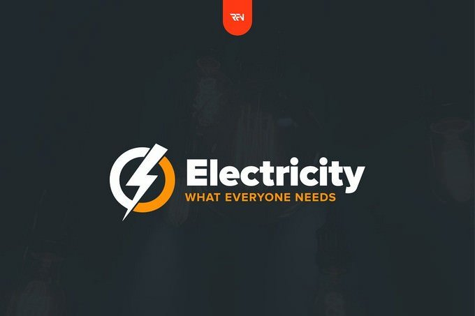 Electricity Logo Template