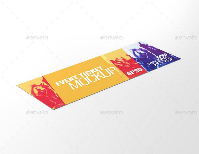 Event Tickets Mock-Up