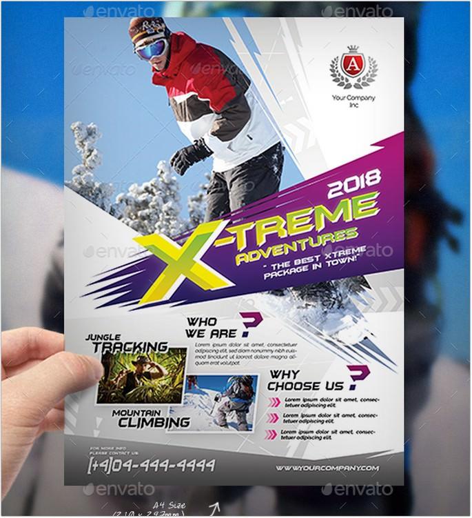 Extreme Adventure Flyer