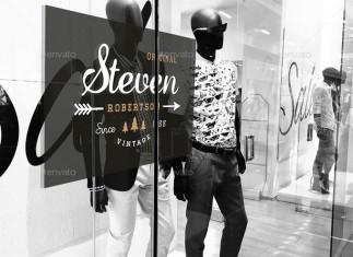 Shop Signage Mockup