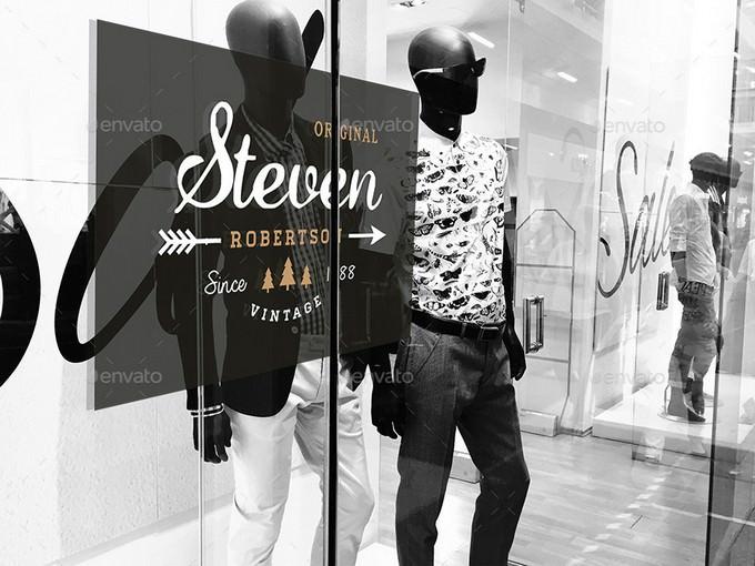 Fashion Signage Mockup