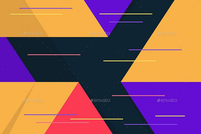 Flat Material Design Backgrounds