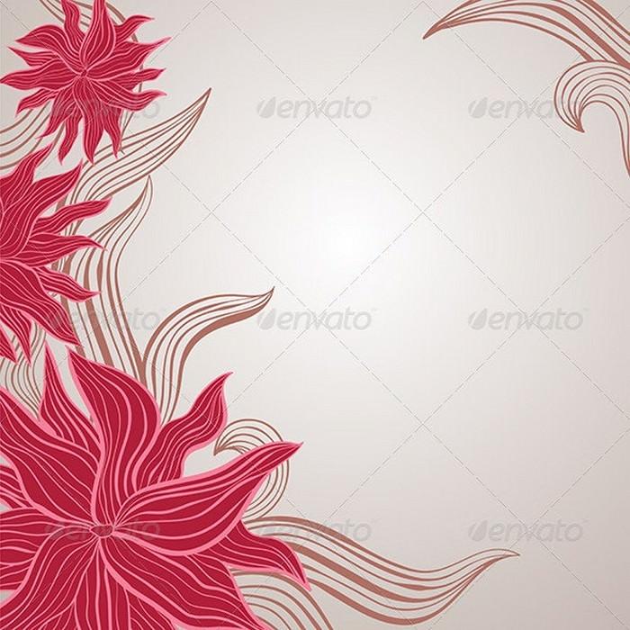 Floral Pastel Background