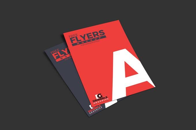 Flyers Mockup For Presentation
