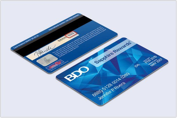 Reward Credit Card PSD
