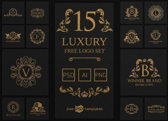 Free Luxury Logo Set