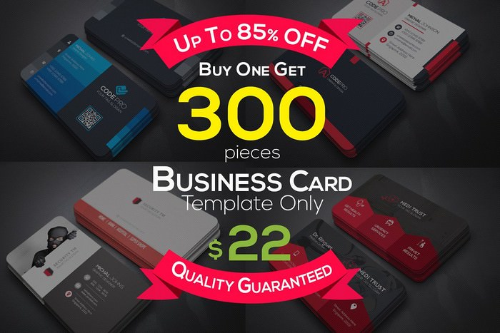 Full & Finel Business Cards Bundle