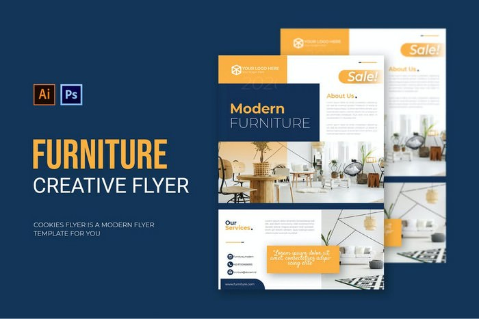 Furniture Creative Flyer