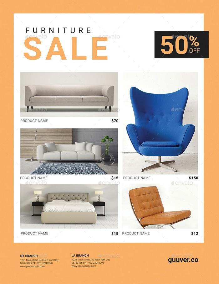 Furniture Sale Flyer # 2