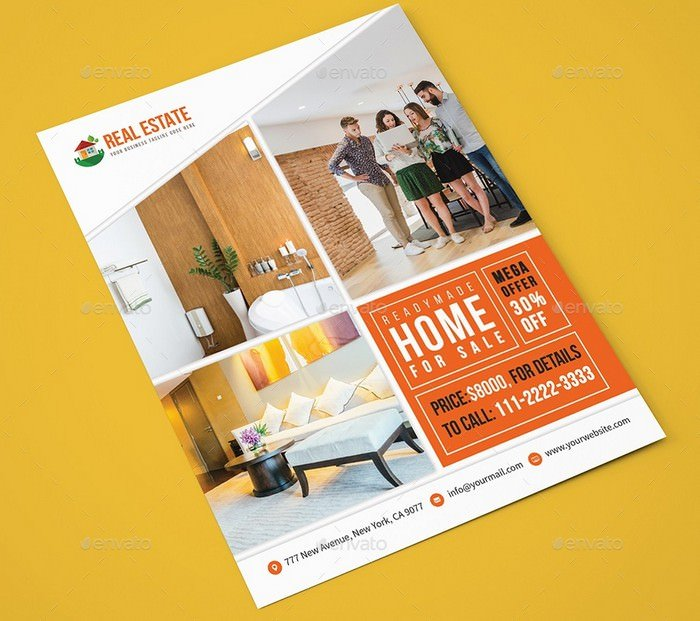 Furniture Sales Flyer Template