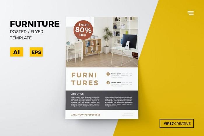 Furnitures Shop Flyer