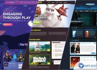 Gaming Website Template