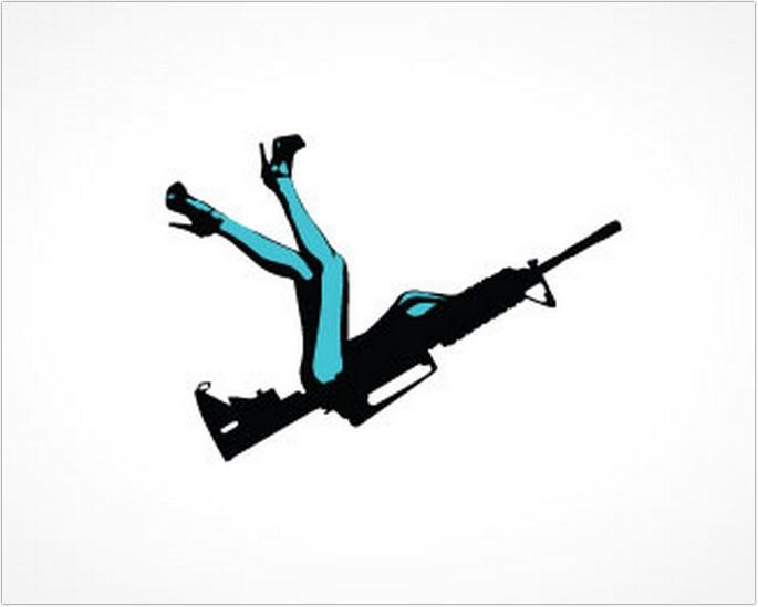 Gun Girl Logo