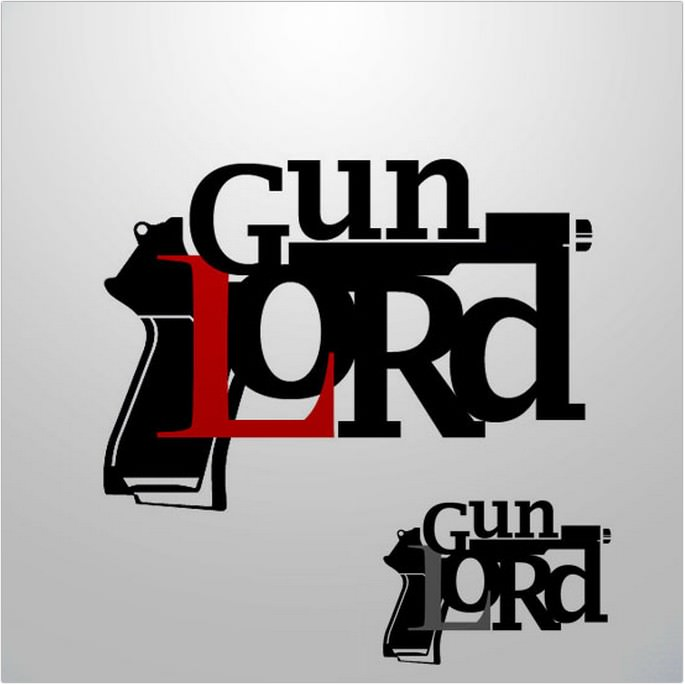Gunlord Logo Design
