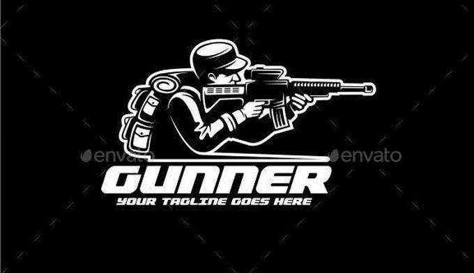 Gunner Logo Template