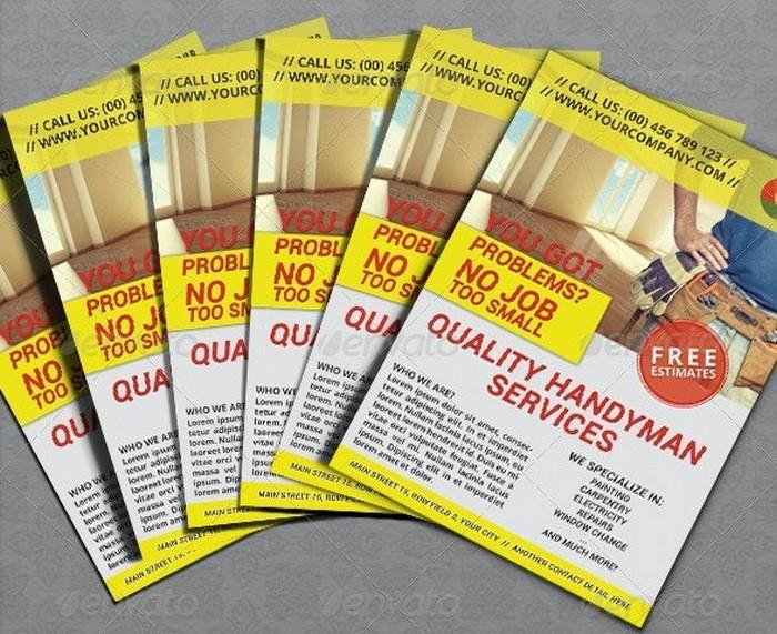 Handyman Repair Services Flyer