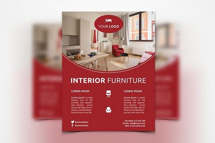 Interior Furniture Flyer