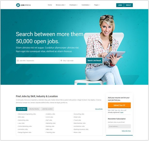 Job Portal & Resume