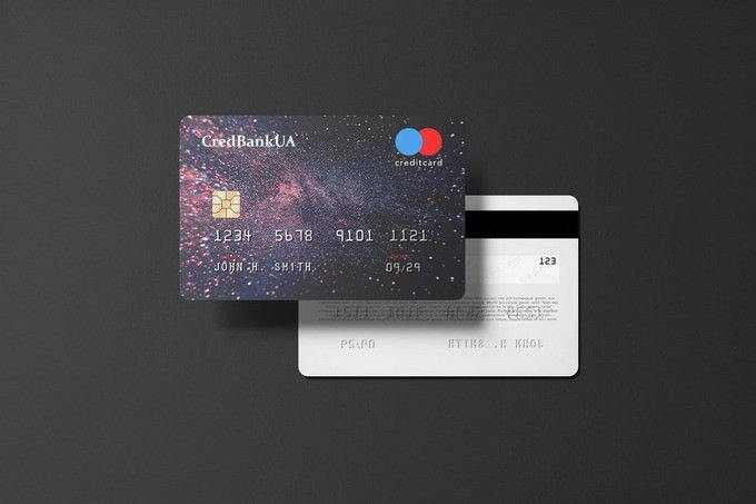Landscape bank Card PSD