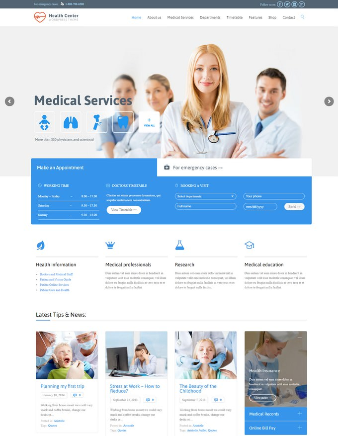 Medical & Dentist