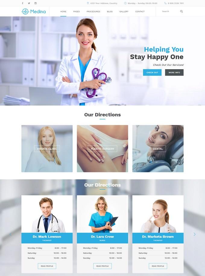 Medina Medical - Medical Template