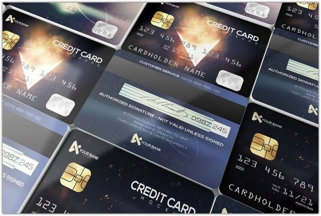 Membership Credit Cards Design