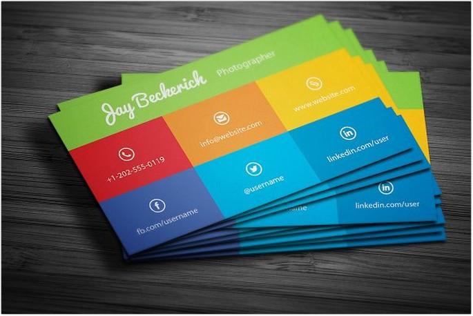 Metro Flat Business Card