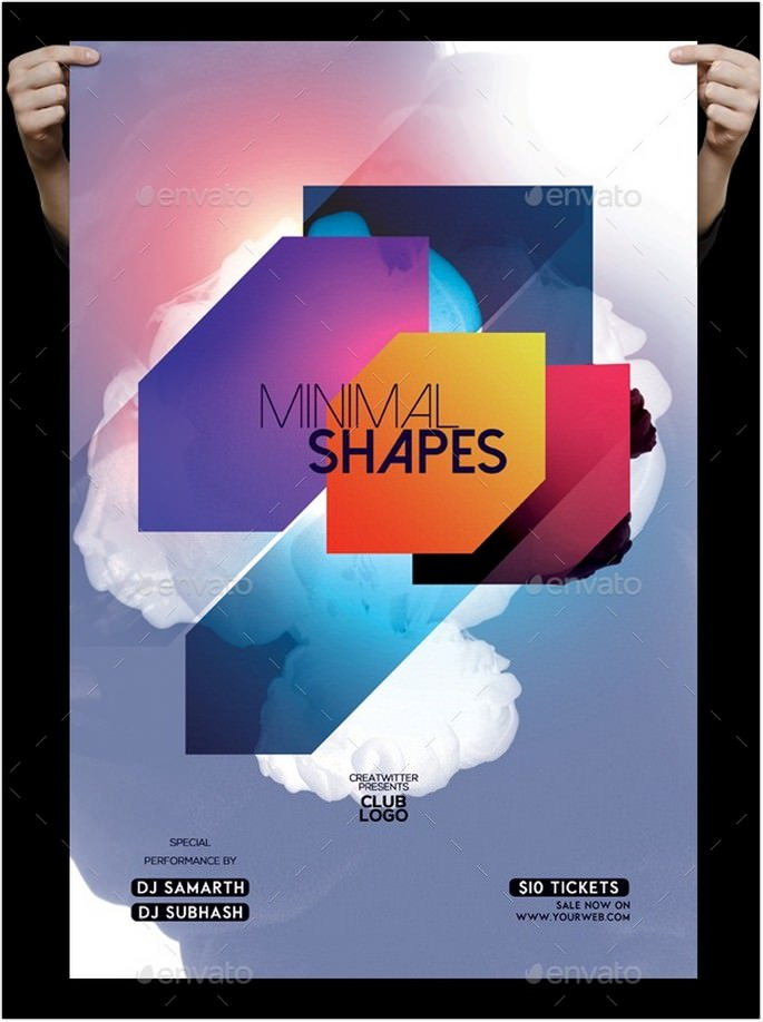 Minimal Shapes Flyer