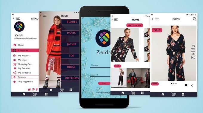 Mobile APP UI UX Design