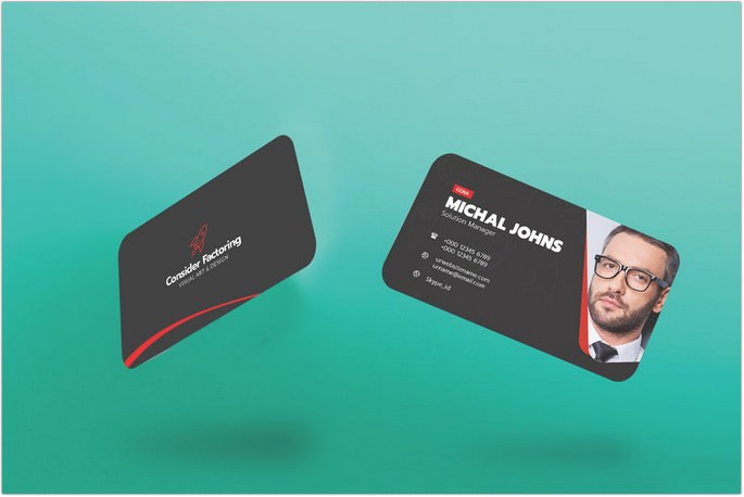 Best Visiting Card Template Download Element