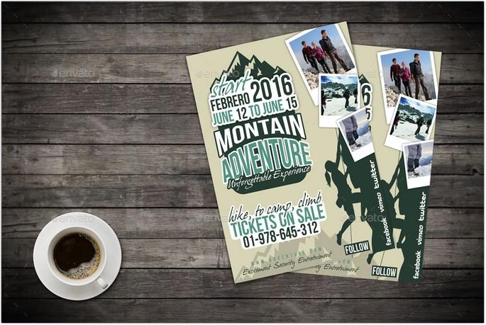 Mountain Adventure Flyer