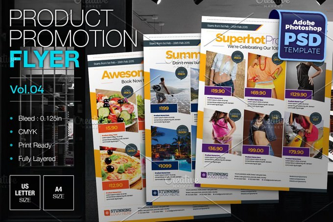 Multipurpose Product Promotion Flyer Templates