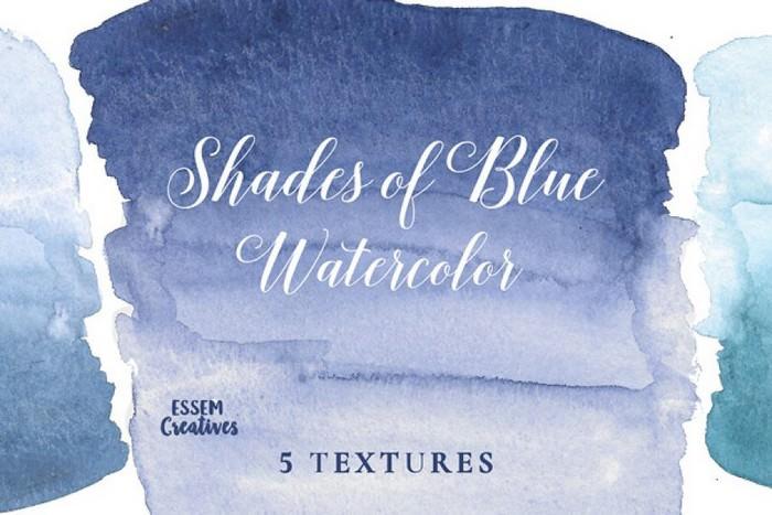 Navy Blue Ombre Textures