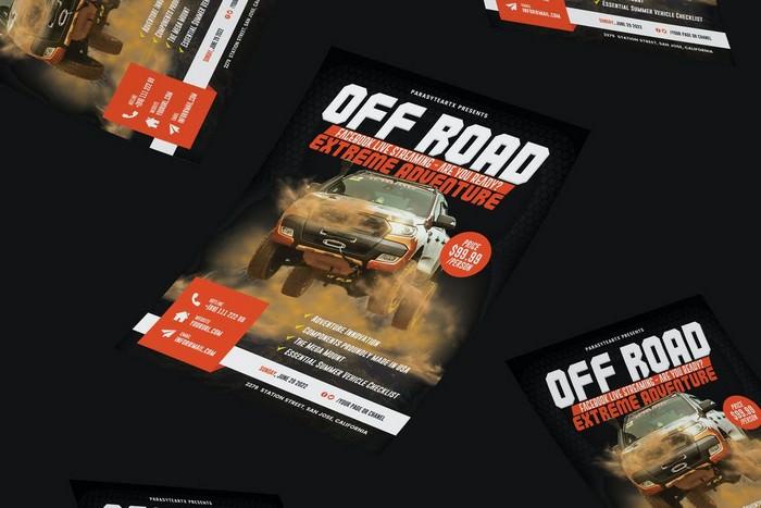 Off-Road Adventure Flyer
