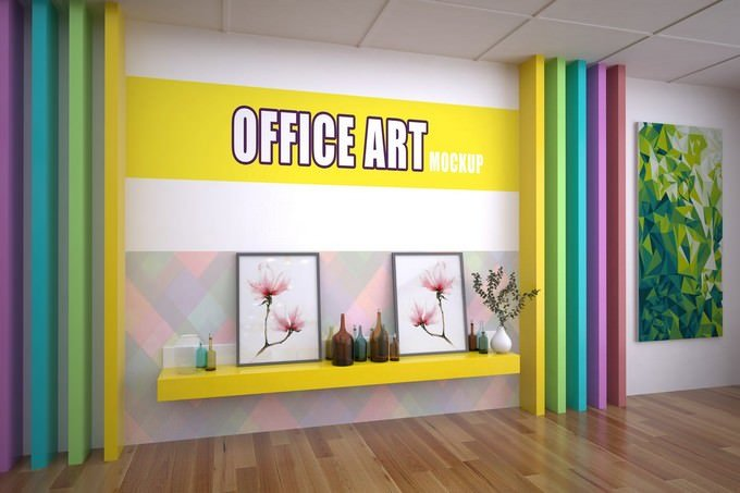 Office Art Mockup