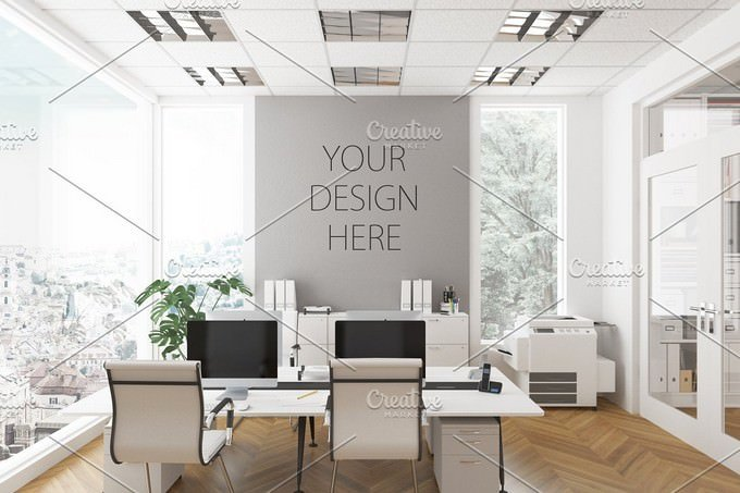 Office Interior Mockup