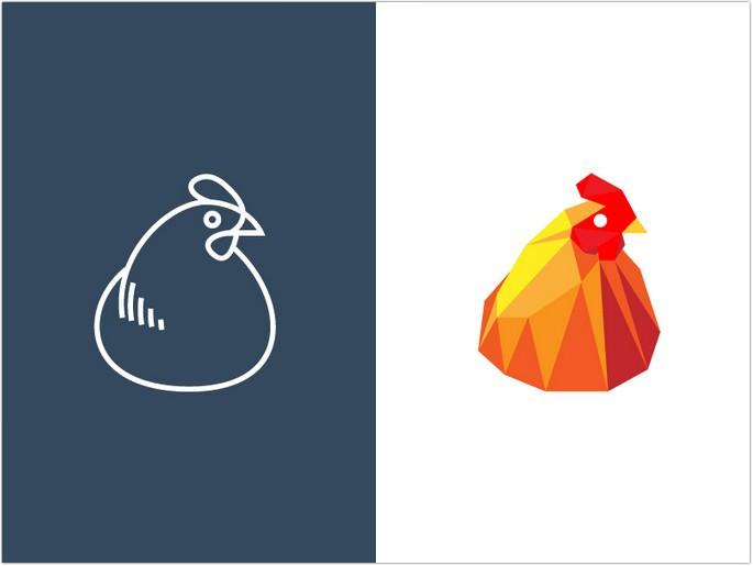 Hen logo