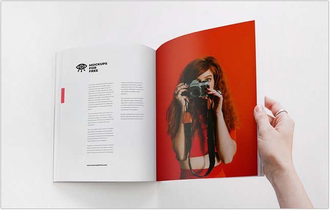 60 free magazine mockup psd templates templatefor