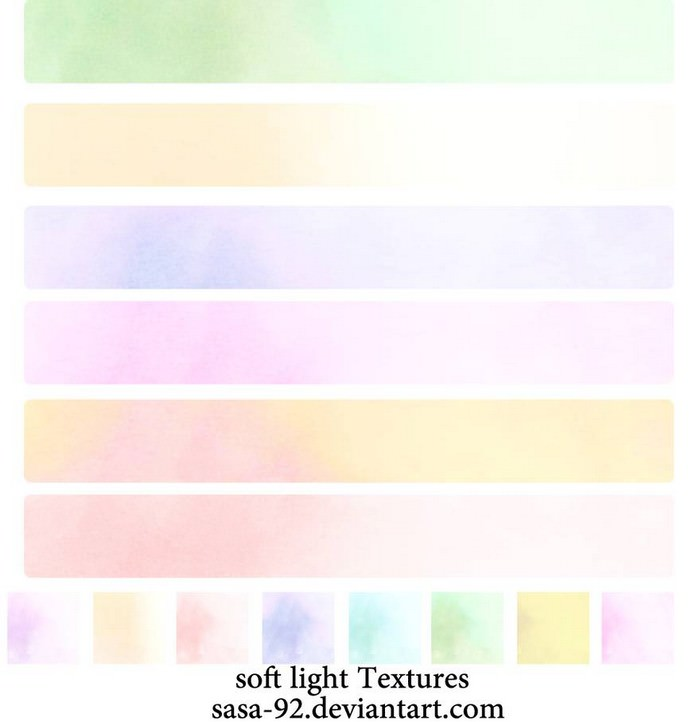 Pastel Soft Light Textures