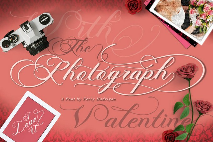 Photograph Wedding Font