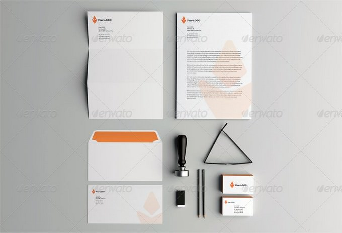 Photorealistic Corporate Identity MockUp